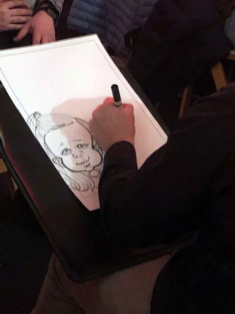 caricature faces