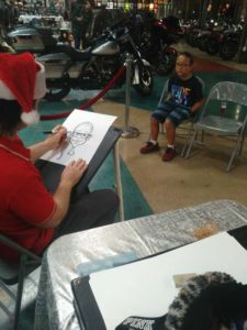caricatures for christmas party for kids