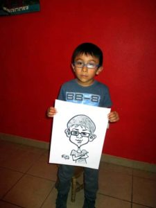 caricatures for kids birthday